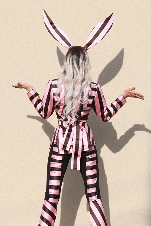Jacket Pink Bunny