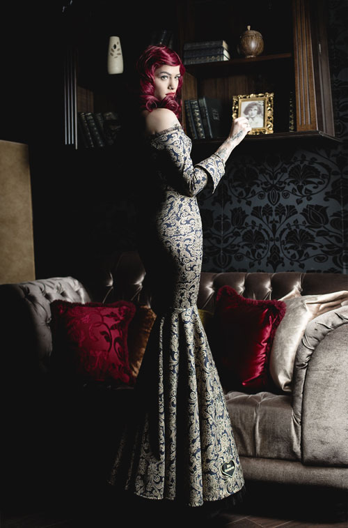 Вечерна рокля Mystic