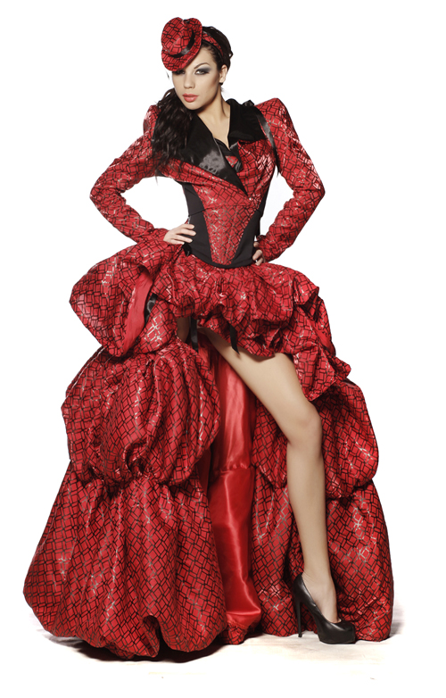 Night dress RED COUNTESS