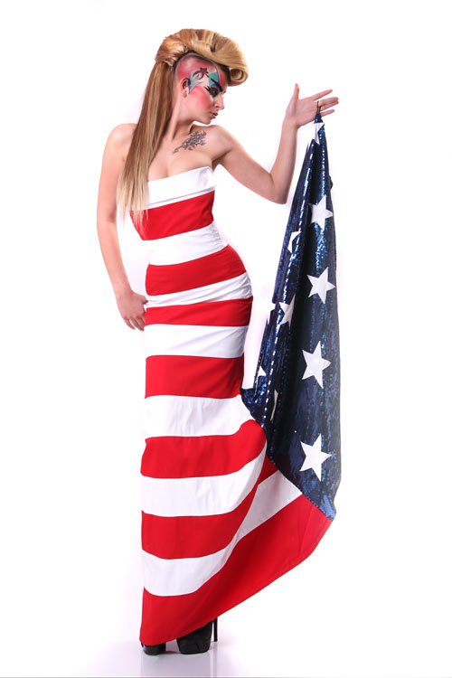 Рокля American Barbie