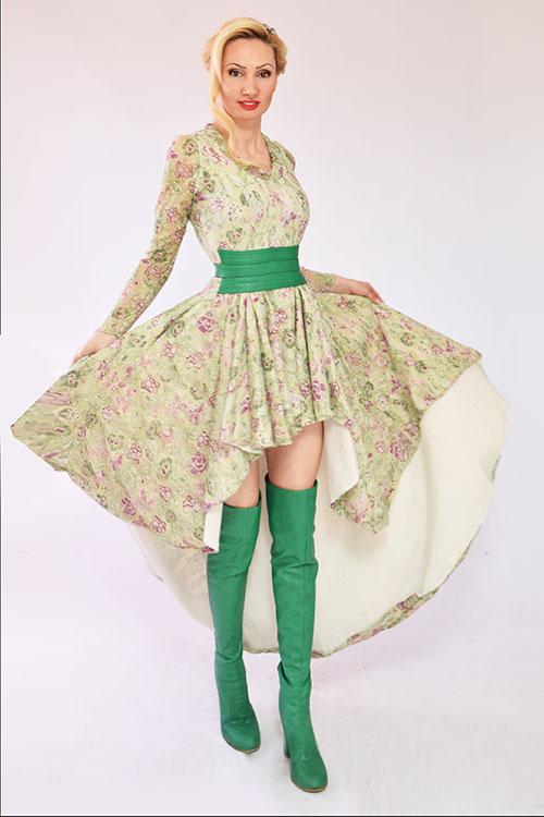 Вечерна рокля  Пролет