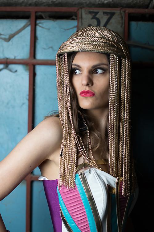 Cleopatra helmet