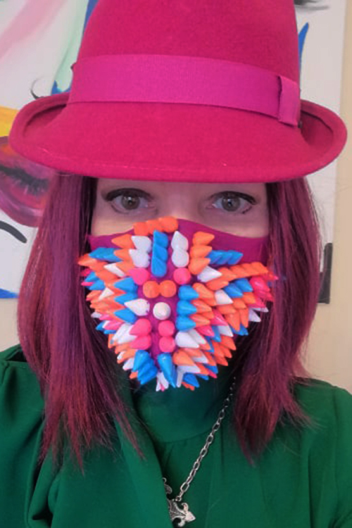 Fashion masks Covid 19