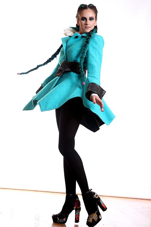 Палто Blue