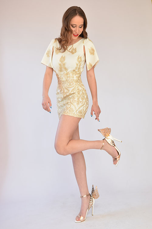 Рокля Golden Lady
