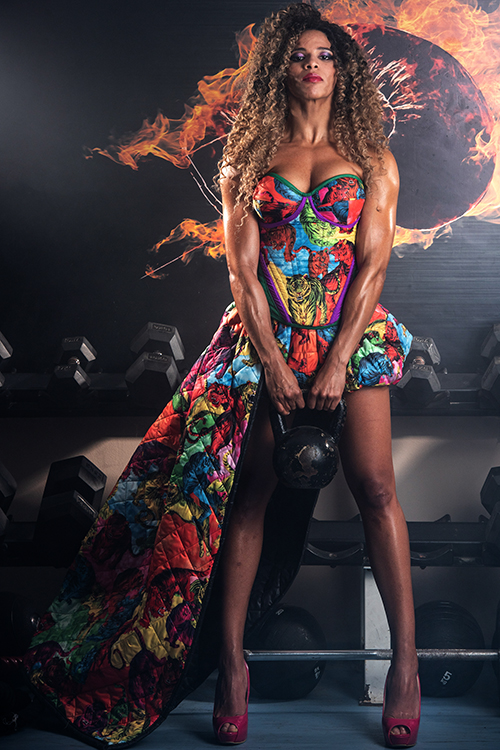 Вечерна рокля Candy girl