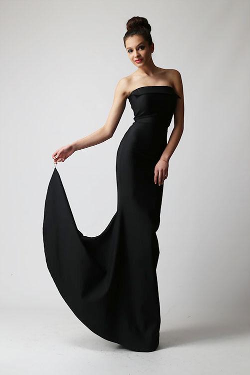 Вечерна рокля  Тялото